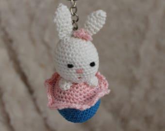 Little rabbit key holder