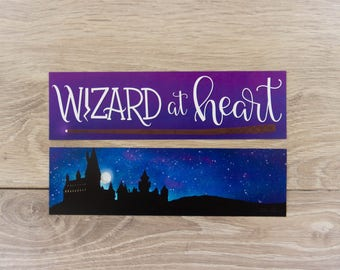 Wizard At Heart - Bookmark