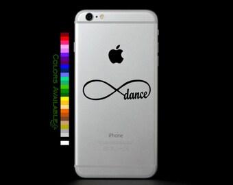Dance Infinity Loop Phone Decal