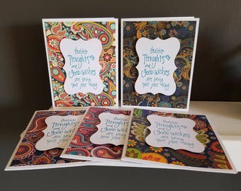 Paisley Get Well Soon Card Set