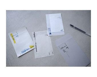 Yohaku Original Japanese Paper Bundle Memo - Group M-01
