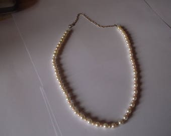White marquise necklace