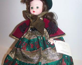 Belle Christmas Carol madame alexander 16 in doll