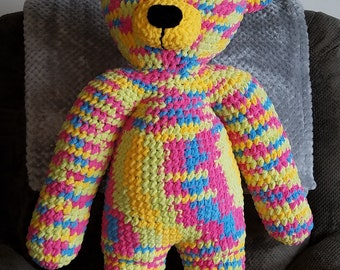 RAINBOW TEDDY BEAR