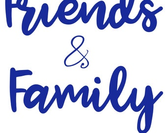 Friends & Family ONLY   Do Not Order   Friends and Family Listing