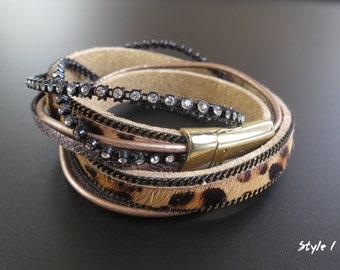 Multi Strand Wrap Around Bracelets