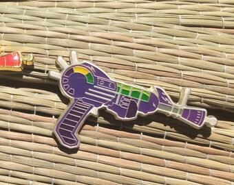 PURPLE Zombies Ray Gun Pin