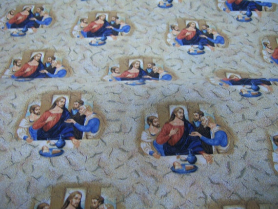 VIP By Cranston Fabric New On Bolt Jesus And Deciples