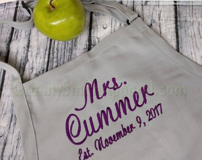 Mrs & Mr Aprons