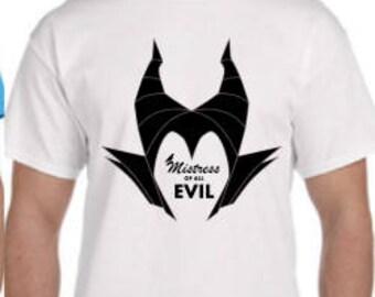 Maleficent Disney Shirt, , Mistress of Evil Disney Shirt, Womens Disney  Shirt, Mens Disney Shirt, Kids Disney Shirt