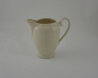 Vintage milk Jug Ivory white-food styling & Photography Prop Ref: FPS047