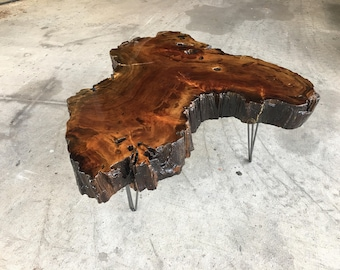 Sinker Cypress cookie coffee table