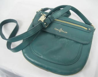 Forest Green Leather Cole Haan Crossbody