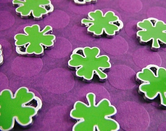 Four Leaf Clover Charms (package of 10) CH003