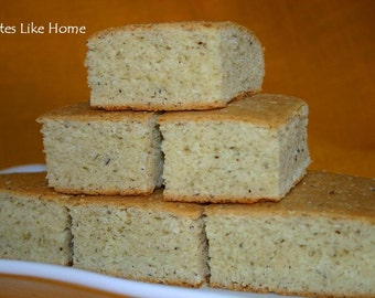Trinidad Homemade Coconut Bake / Bread. Made with real coconuts and fresh coconut milk. Coconut Roast Bake