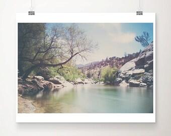Kern river photograph mountains photograph California photograph tree photograph Sierra Nevadas photograph landscape photograph