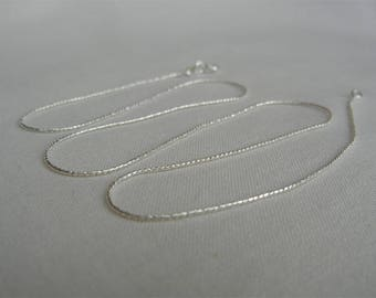 Design solid 925 sterling silver chain