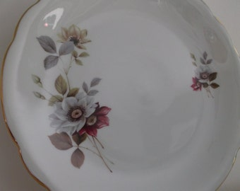 6 plates flat luxury porcelain - 6 french flat porcelain