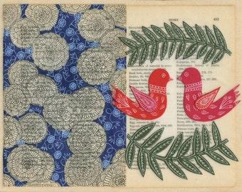 tell my love the secret - matte archival print