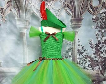 Peter pan style tutu dress