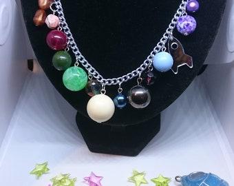 Galaxy Necklace.  Space necklace.  Galaxy gift.