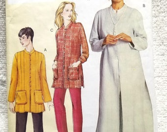 Vogue 7397, Today's Fit, Sandra Betzina, Misses Petite Tunic and Pants Sewing Pattern, US Sizes 10, 12, 14, 16