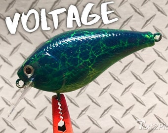 Custom fishing lures voltage series