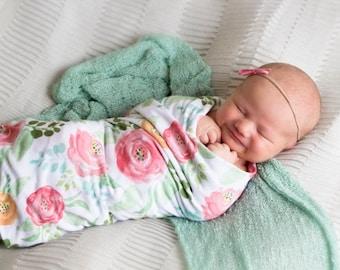 Swaddle Blanket - Floral Field – Swaddle Blanket
