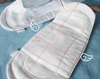 Set 4 towel hygienic washable double wing