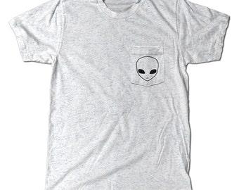 Alien UFO Pocket t-shirt
