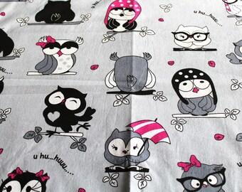 Coupon fabric girl 50 x 70 cm