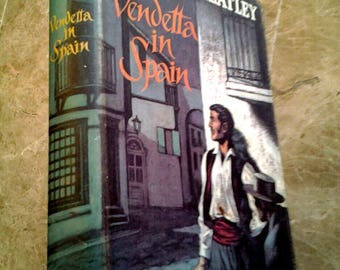 Vendetta in Spain by Dennis Wheatley, Hardcover, Year 1961