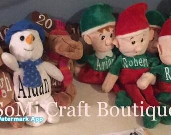 Elf on, Personalized Christmas Elf, Plush Christmas Elves, Plush Christmas Elf, Christmas Elf, Elf, Shelf,