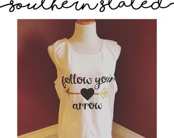 Follow Your Arrow -->