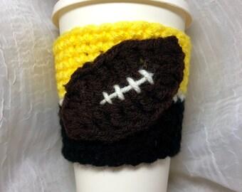 Football Travel Mug Cozy