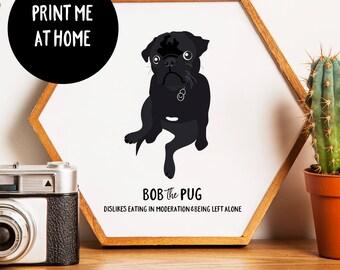 Pet Portrait, Illustrated Pet Portrait, Custom Dog Portrait, Custom Gift, Personalised Wedding Gift, Pet Portrait Custom, Custom Pet Art