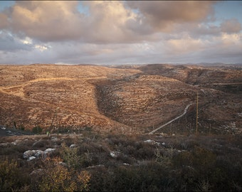 Near the settlement - Israel - Color Photo Print - Fine Art Photography (IS43)