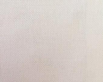 28 Count Evenweave Cotton, Zweigart, Antique White