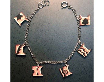Warrior Cat Clan Bracelet