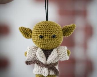 Yoda | Star wars Yoda toy | Amigurumi Yoda Toy | Master Yoda  | Amigurumi toy |  Crochet amigurumi | Stuffed toy | Feel the force