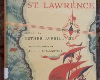 Cartier Sails the St. Lawrence by Esther Averill, Feodor Rojankovsky
