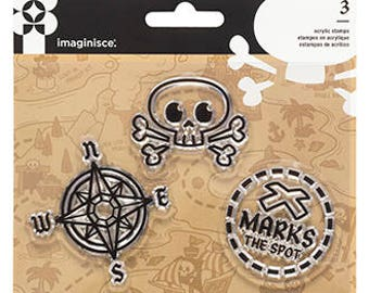 Imaginisce Pirate Stamps