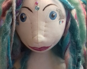 OOAK handmade cloth doll