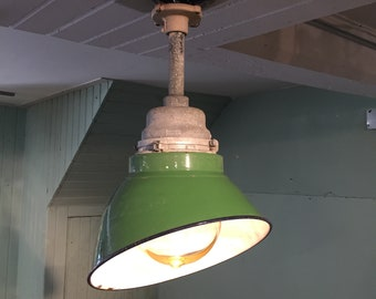 Vintage Crouse Hinds Explosion Proof Angle Shade Fixture