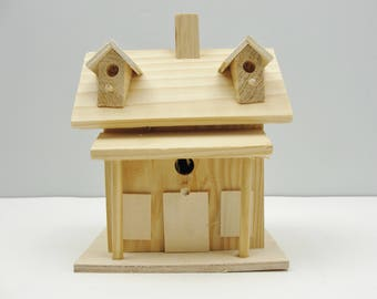Birdhouse fairy house gnome home