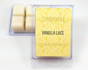 VANILLA LACE TYPE Soy & Beeswax Melts