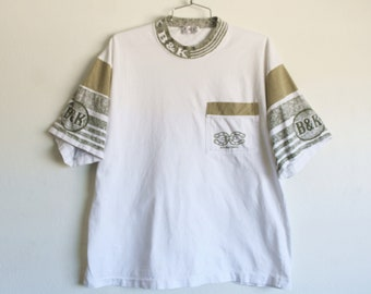 XLARGE Vintage 1990s B&K International Pocket T-Shirt