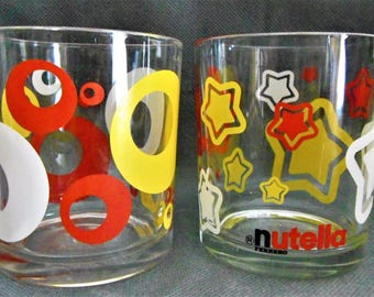 Collectible glass from the famous brand Nutella / Nutella Glass Collector.