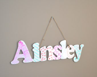 Personalized Name Dry Erase Whiteboard Sign