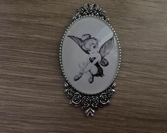 vintage Tinker Bell brooch